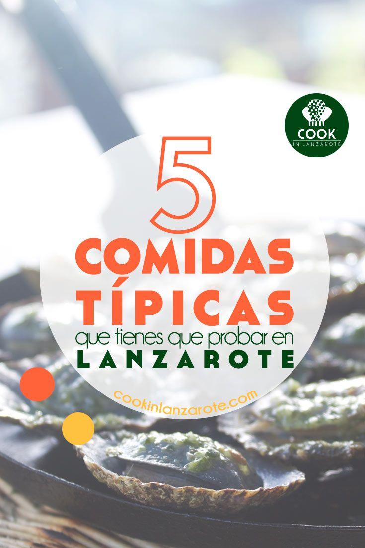 5 Comidas típicas que tienes que probar en Lanzarote - Lapas