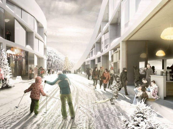 120 best Snowy day Exterior Render Image images on Pinterest