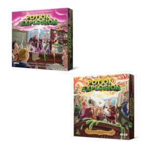 Comprar Potion Explosion el juego de mesa editado por Edge Entertainment al mejor precio online en EGD Games; tu tienda de Hobby.