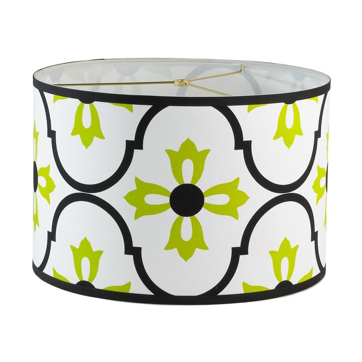 Moroccan Tile Drum Lampshade