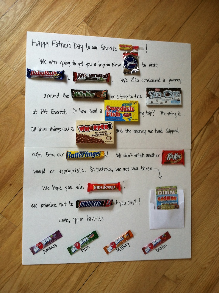 creative father's day ideas from wife