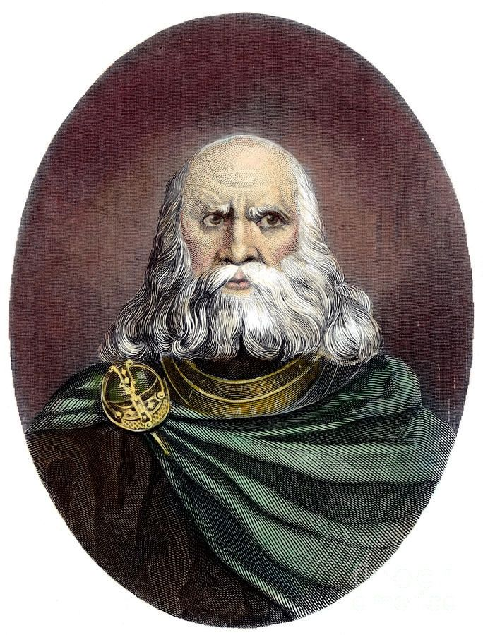 Brian Boru (926-1014), High King of Ireland. Image source: link  My 29th Great Grand Father.  Mary Moriarty