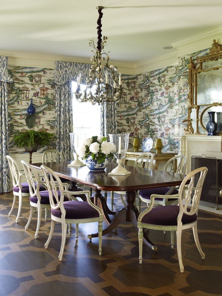 Forever obsessed with this stunning dining room