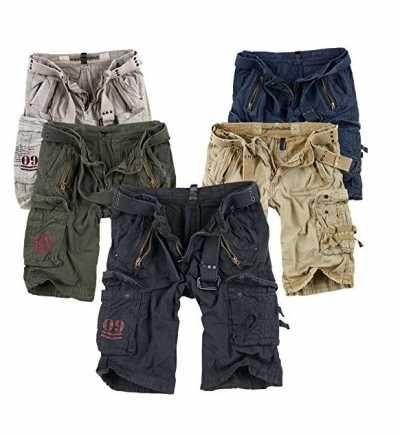 Surplus Pantalones Cortos para Hombres Ofertas especiales y promociones  Caracteristicas Del Producto: - Bitte SURPLUS Tabla de tallas en el texto nota