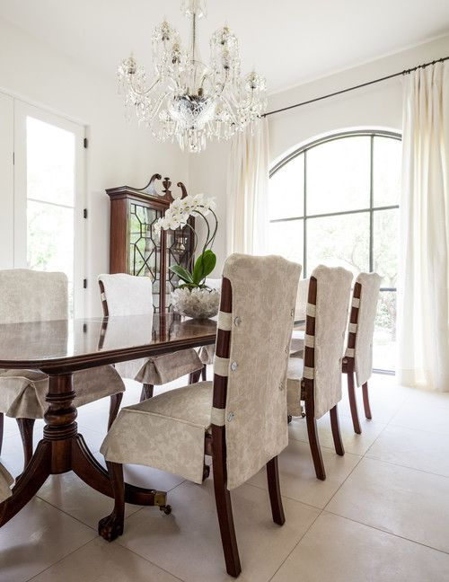 Princeton Residence Dallas Stocker Hoesterey Montenegro Georgiana Design Upholstered Dining Room ChairsRecover ChairsChair SlipcoversDining
