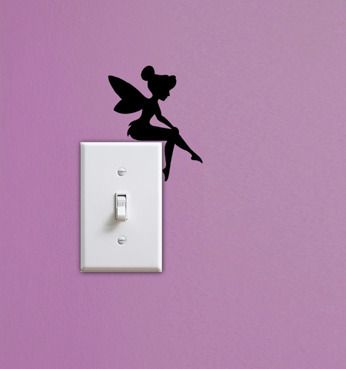 Fairies, Molding Mates Home Decor Peel and Stick Vinyl Wall Decal Stickers - Molding Mates Wall Decals - $15.50