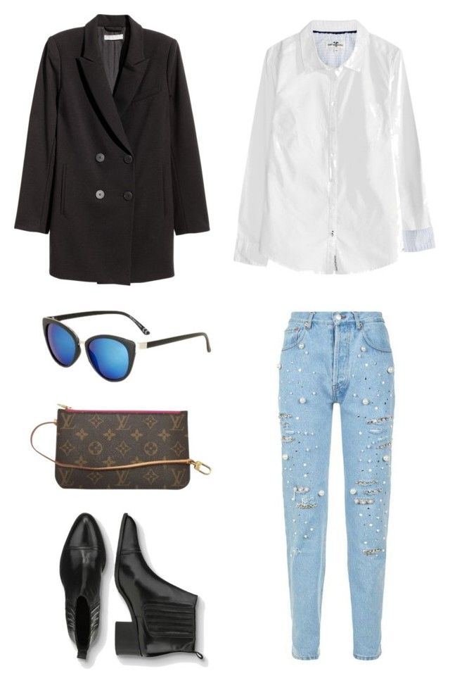 """""""Untitled #181"""" by stinasolheim on Polyvore featuring Forte Couture, Jakke, Topshop and Louis Vuitton"""