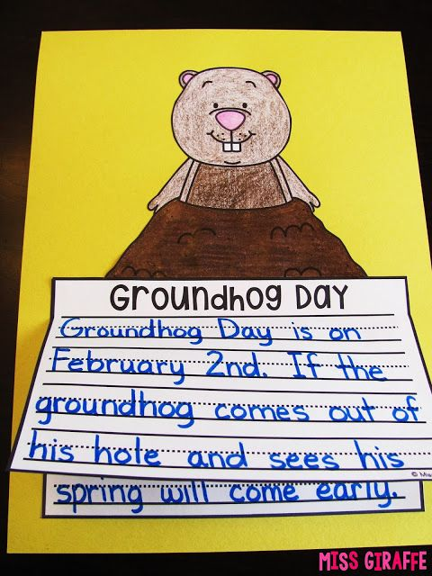 Groundhog Day Lesson Plans: February 2