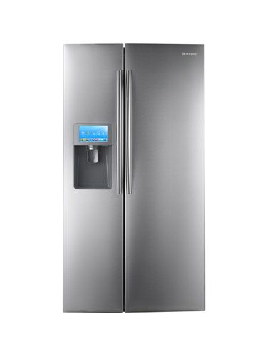You can have your favorite recipes, your kids' soccer schedule, and reminders for your next grocery-shopping trip all on hand without having to drag your tablet or smartphone into the kitchen with the Samsung Side-by-Side RSG309AARS/XAA LCD Refrigerator ($2,499). This high-tech fridge boasts an LCD screen that's filled with family-friendly features: Apps like a calendar and a notepad keep you up-to-date on everyone's schedules, Epicurious recipes offer creative cooking ideas, and Pandora…