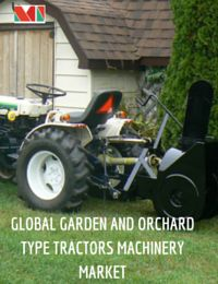 The market is segmented by type into orchard tractors and garden tractor. Orchard tractors are the most widely used tractors in the world and accounted for largest share of the market.