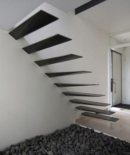 M s de 25 ideas incre bles sobre escaleras flotantes en - Escaleras al aire ...