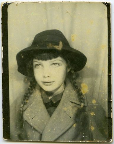 vintage photo booth.