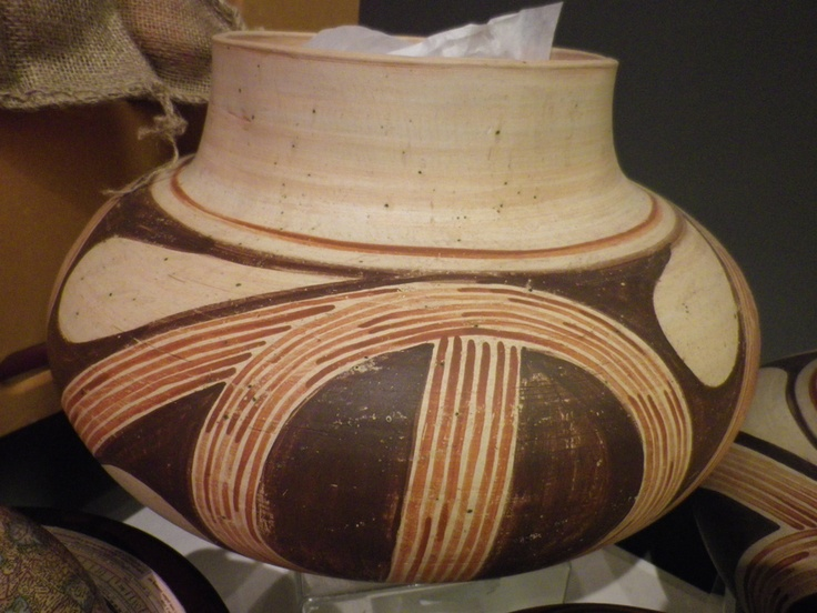 """Natalia Laluque  Her ceramic colection """"Trypilia"""" is inspired by the ancient Trypilian culture.  Found at ROM giftshop 2011."""