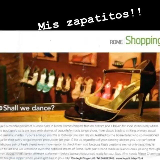 10 Me Gusta 1 Comentarios Deborah Jabif Art Deborahjabif Art En Instagram Mis Zapatos En Una Nota Donde Recomiendan El In 2020 Rome Shopping Tango Shoes Shoes