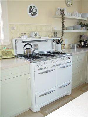 71 best images about vintage stoves on pinterest for Dream kitchen appliances