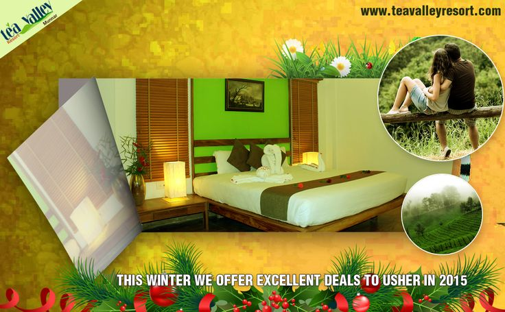 Winter at Munnar comes to you at inviting prices. Enjoy this with Tea Valley Resort.