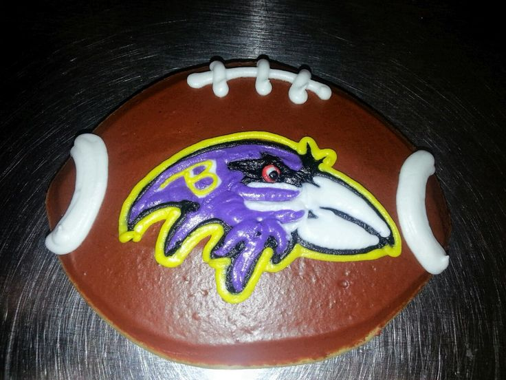 30 Best Images About Baltimore Ravens Cakes On Pinterest