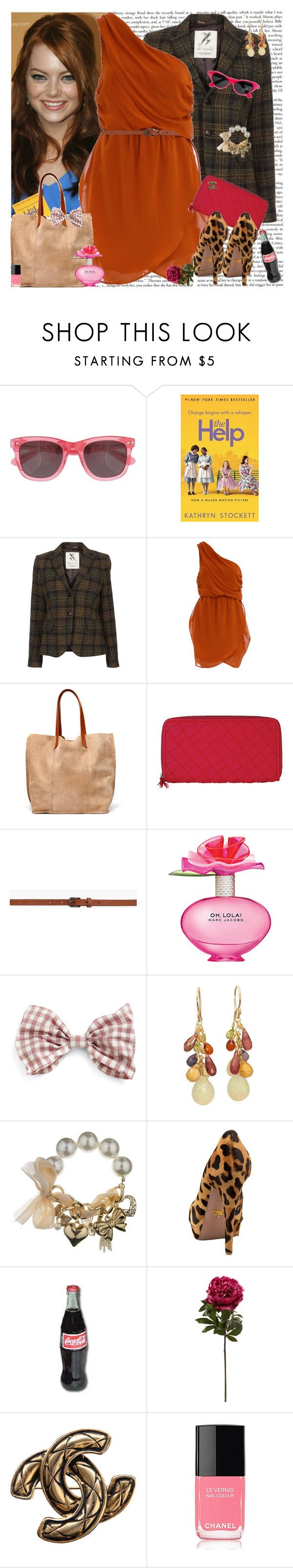 """The Help.. Movie in Theaters Now!!"" by msfashionchick ❤ liked on Polyvore featuring Jack Wills, GANT, Dorothy Perkins, Zara, rag & bone, Marc Jacobs, Calico Juno Designs, Prada and Chanel"