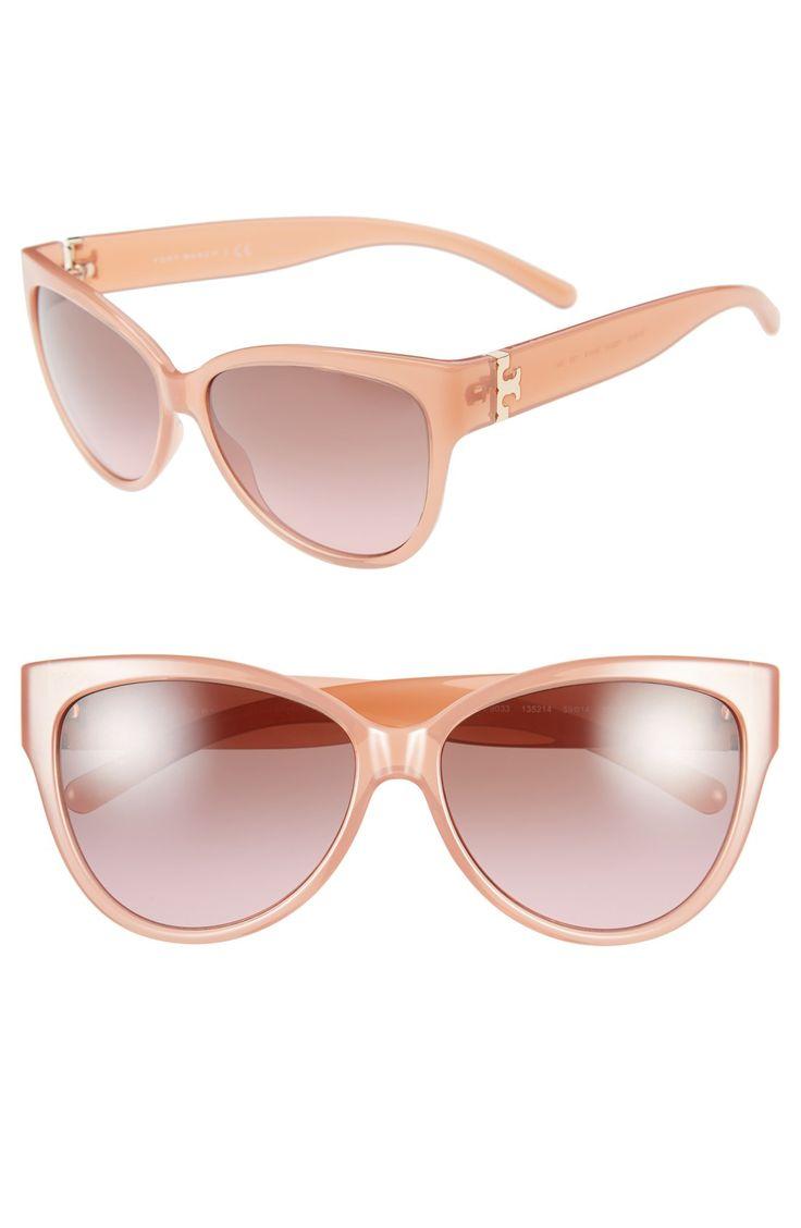 Every girl deserves a pair of cute pink cat eye sunnies.