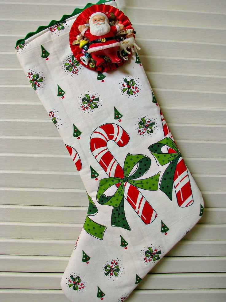 1000 ideas about vintage stockings on pinterest charles for Charles craft christmas stockings