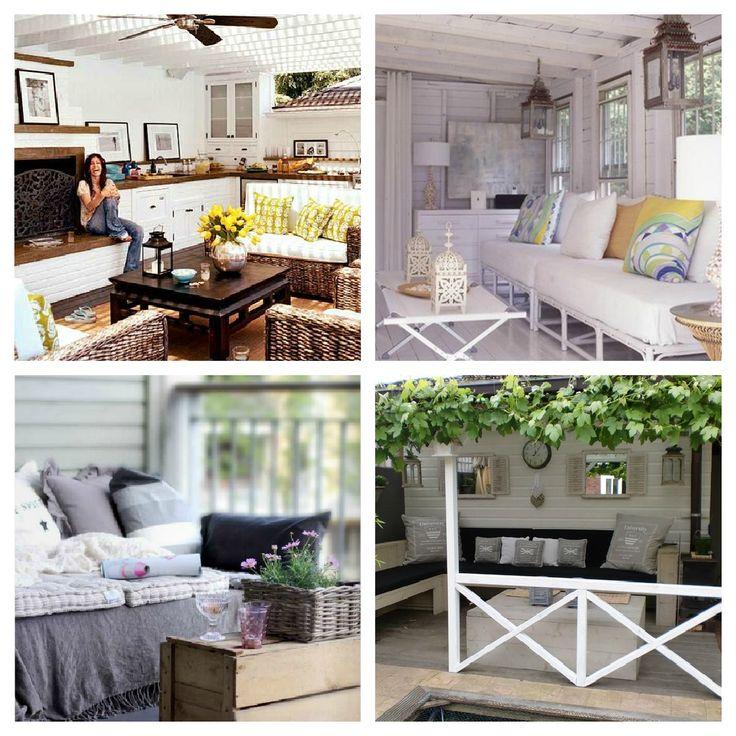 Veranda Inrichten - Mooi artikel met prachtige foto's voor de veranda. Hoe richt je je veranda leuk en prettig in? Lees het!