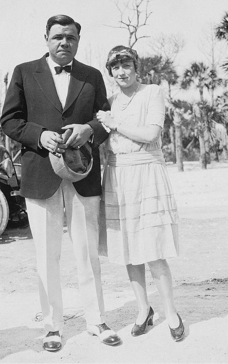 BABE RUTH and His WIFE | Baseball Days Gone By, Etc. | Pinterest Babe Ruth Yankees
