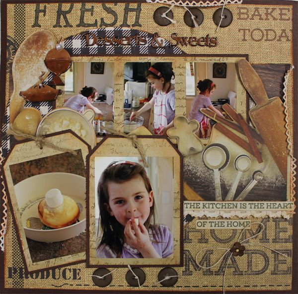 Deserts & Sweets - single page Aug16 Kit Club Designed by Carol Barron