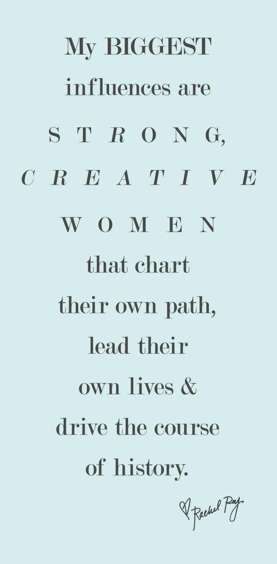 strong, creative women....