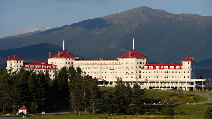 Mount Washington Resort | Bretton Woods, NH - A grand masterpiece of Spanish Renaissance architecture, Omni Mount Washington Resort in New Hampshire's White Mountains was a two-year labor of love for 250 master craftsmen. Conceived by industrialist Joseph Stickney, this National Historic Landmark opened in 1902.