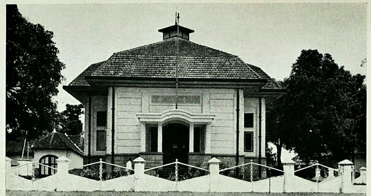 De Javasche Bank Aloon-Aloon Malang 1914-1939.