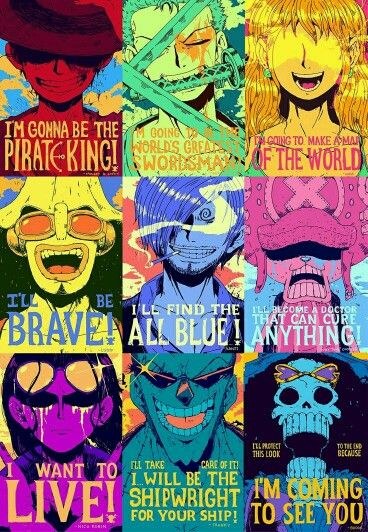 One Piece character quotes