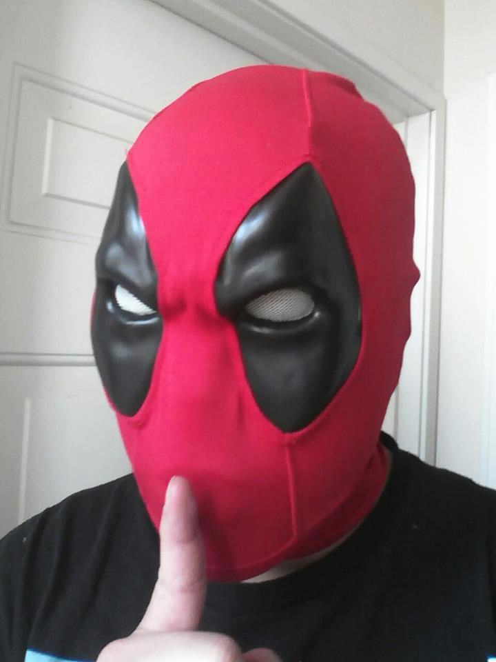 Video Game style Deadpool mask