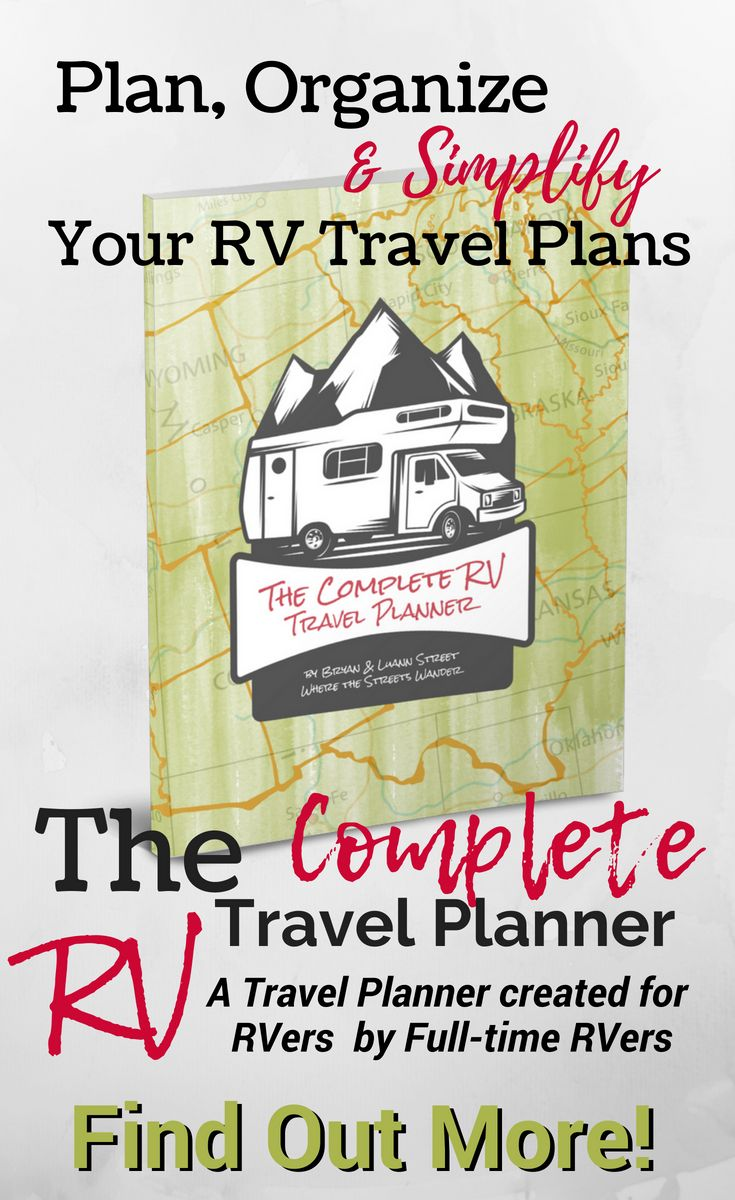 the complete rv travel planner is here traveling camping season is upon us are you anxious to get out and hea best of where the streets wander