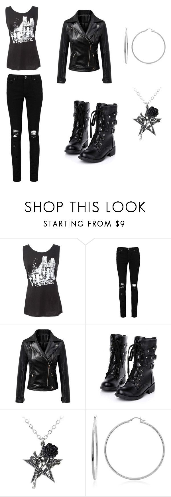 """Untitled #116"" by ziadvil on Polyvore featuring Boohoo, WithChic and Sterling Essentials"