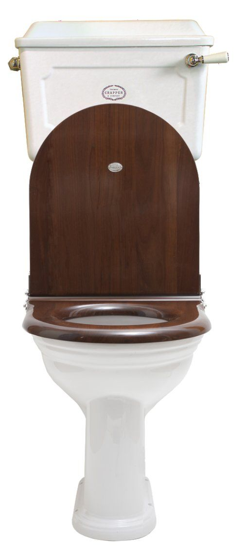 Thomas Crapper & Co Ltd. Low Level China Cistern WC Set with D Shape Seat