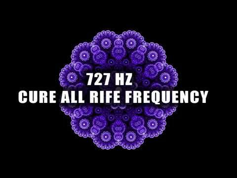 """Cure All Allergies & Sinusitis ➤ 727 Hz """"Cure All"""" Rife"""