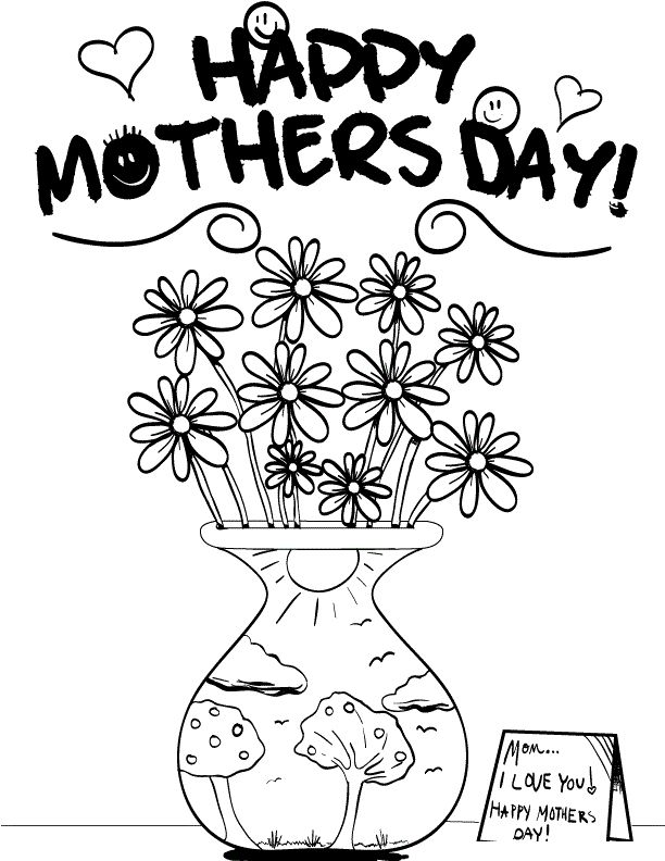 110 best mother images on Pinterest Nana quotes, Grandchildren and - best of happy birthday nana coloring pages