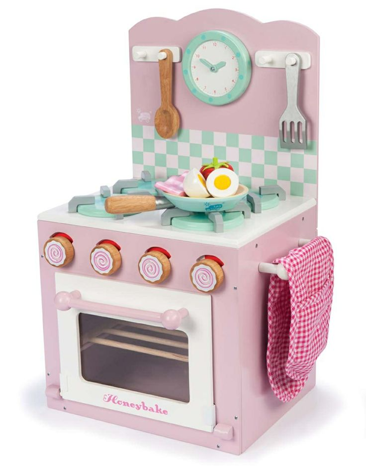 Le Toy Van Pink Oven and Hob Set