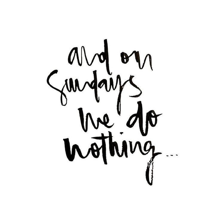 Have a lovely Sunday guys!