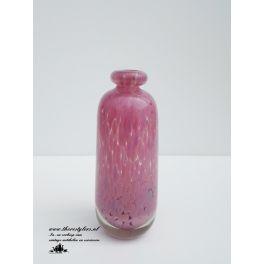 rose glazen vaasje Mdina small glass pink vase