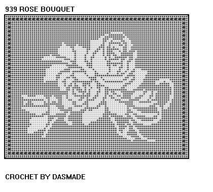 filet crochet patterns free | FILET CROCHET DOILY PATTERN | FREE PATTERNS