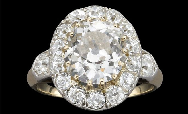 Unique and Beautiful Jewels Since 1851. Kozminsky specialises in rare and beautiful jewellery including antique and vintage inspired rings, like this Victorian oval cut diamond cluster ring (a steal at only $45,000!). But don't be disheartened, if your budget doesn't extend that far, Kozminsky also has many stunning rings well under $10,000. #kozminsky #engagement #melbourne