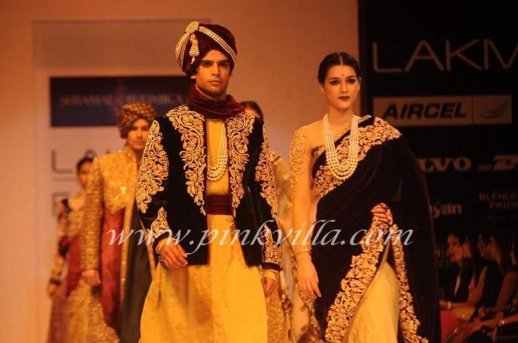 Shyamal & Bhumika at Lakmé Fashion Week Winter/Festive 2012