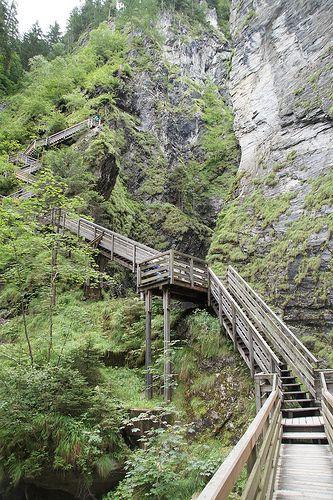hiking in Taxenbach, Salzburg province, Austria