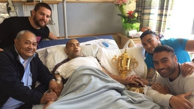 All Blacks pay special visit to sick friend  | Stuff.co.nz