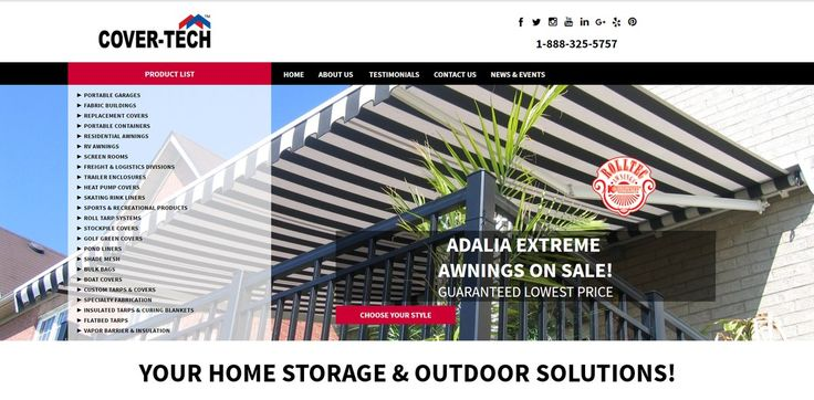 Yay it's Friday and Yay we have just launched our new website! With a fresh look and feel, our new website is designed with you in mind.  Fresh, fast, mobile optimized and easy to navigate!  Check it out at www.cover-tech.com  Have a great weekend everyone!