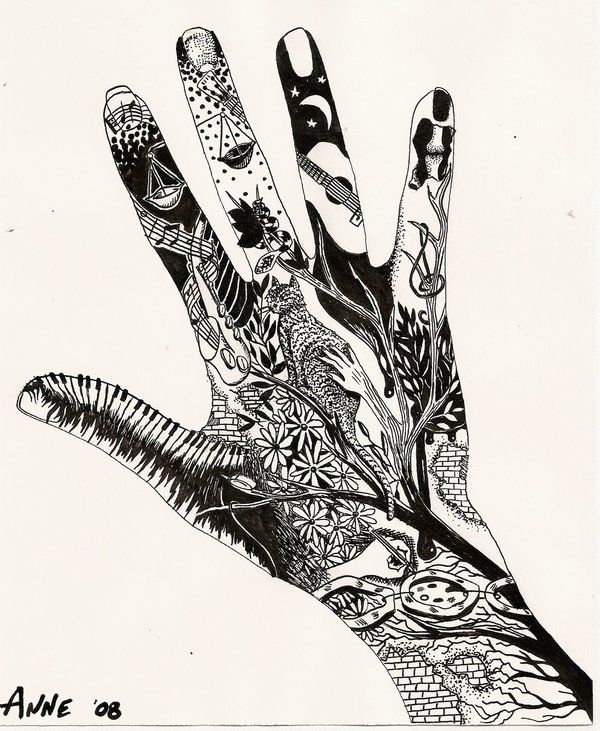 Favorit 76 best Hand art images on Pinterest | Drawings, Ap drawing and  NV54