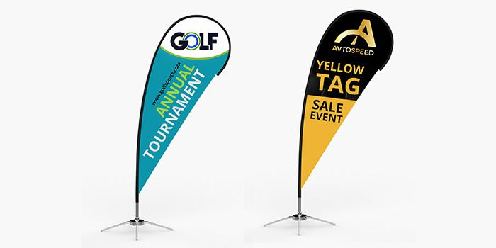 Custom Teardrop Flags For Outdoor Advertising Banner Advertising Custom Flags Custom Banners