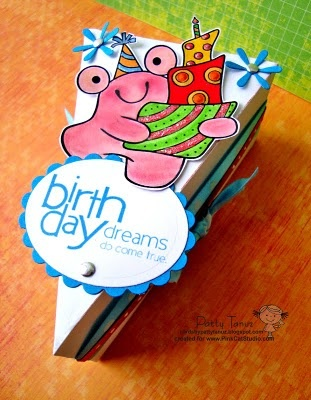 BRIRTHDAY DREAMS...: Dt Pink, Form, De Torta, As, Brirthday Dreams, Torta Genial, Pink Cat, Cat Studios