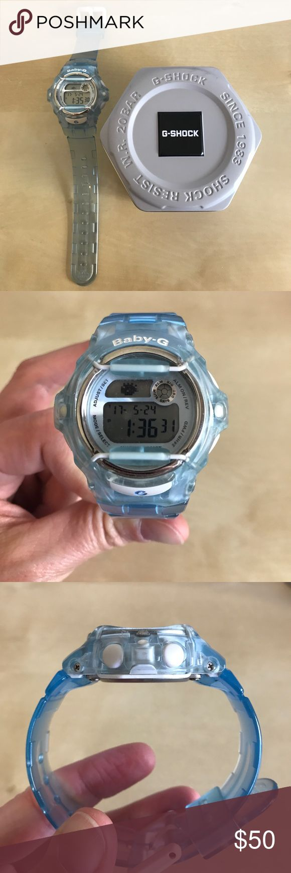 Casio Baby-G G-Shock Digital Watch Like New Like new Casio Baby-G G-Shock watch comes in original box with manual. Model 3252. Lovely condition. Casio Accessories Watches